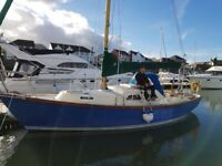 Yacht Samphire 29 foot