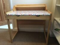 Lovely Toddler desk and chair in good condition