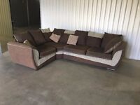 SCS corner sofa in excellent condition - 4months old // delivery available