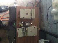 Pair Matching Chub used door Locks