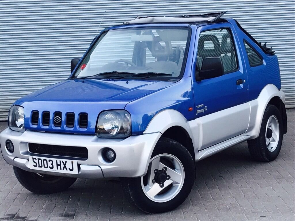 2003 suzuki jimny convertible 1 3 engine soft top long mot service history in poole. Black Bedroom Furniture Sets. Home Design Ideas