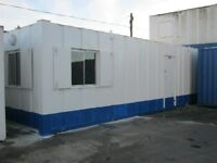 32ft x 10ft Anti Vandal Portable Cabin Site Office FOR SALE Welfare Unit shipping container shed