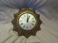 Vintage Smiths sun clock