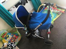 Mother care pram newborn to toddler