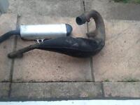 Rm 125 1998 exhaust