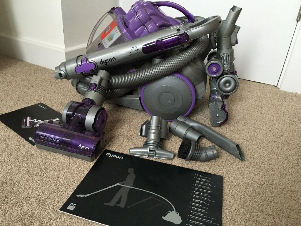 how to clean dyson turbine head