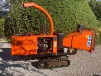 Timberwolf Tw150vtr tracked chipper