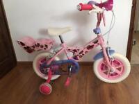 Angelina Ballerina bike in excellent condition