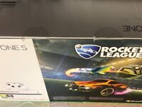 Brand new boxed xbox one s rocket league