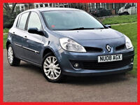 CHEAP 2008 Renault Clio 1.2 TCe TURBO Dynamique 5 Door -- New Timing Belt --alike corsa polo yaris