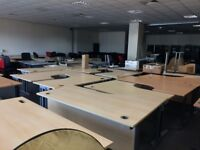 Large Selection of Used Office Furniture