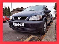 LPG --- 7 Seater --- Vauxhall Zafira --- Automatic --- Duel Fuel --- alternate4 galaxy sharan previa