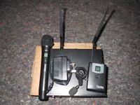 Smartwireless Turbo Professional - Handheld & Bodypack Wireless Microphone System