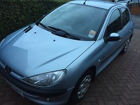 2004 Peugeot 206 1.4 V.Low Milage Only 35K!! Great Condition!