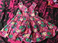 Girls summer dress 18-24 months