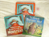 THERE'S NO SUCH THING AS MONSTERS & THE GREAT MONSTER HUNT STORYBOOK SET