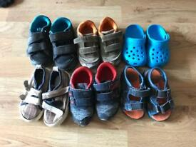 Shoes - toddlers, 6 pairs
