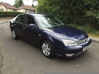 FORD MONDEO 2.0 DIESEL GHIA,7 MONTHS MOT,SERVICE HISTORY,LOW MILEAGE.