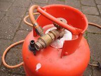 SIEVERT GAS TORCH WITH LPG GAS BOTTLE