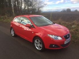 SEAT Ibiza 1.4 Sport Immaculate condition and spare Winter Wheels (6 Mths MOT) Only 1 owner