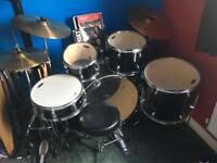 Tornado Drum kit with added extras
