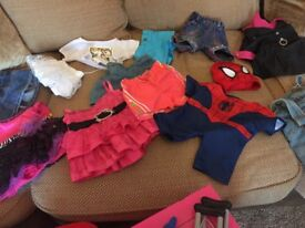 Build a Bear Bundle including wardrobe, bed, lots of shoes and outfits