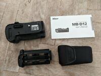 Nikon MB-D12 Multi Power Battery Pack for NIKON D810 & D800 Models