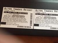 X 2 Alton towers