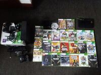 XBOX 360 Slim with kinect