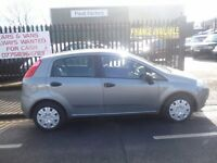 Fiat GRANDE PUNTO active,1242 cc 5 door hatchback,new shape,nice clean tidy car,runs and drives well