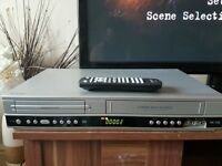 dvd player with video recorder..