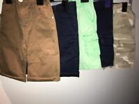 5 Pairs Shorts (Ralph Lauren/Gap/M&S) Age 5-6