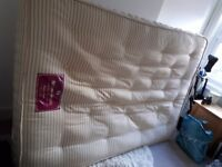 Double bed mattress, sprung. Smoke free and pet free home.