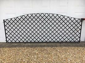 Metal Galvanised Mild Steel Trellis Fence Panels
