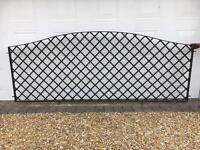 Metal Galvanised Mild Steel Trellis Fence Panels