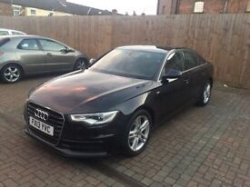 Audi a6 2013 13 reg s line cheapest in the uk