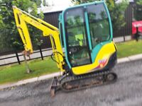 Yanmar SV17 Mini Excavator Digger
