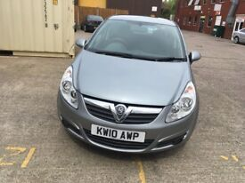Vauxall corsa 1.2 silver 5 door 1 former owner full dealer service history recently been serviced