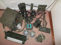 Clansman: job lot of radio items for military vehicle, Land Rover etc, or PICK and MIX - make offers