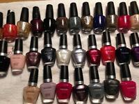 OPI & Cuccio nail polishes