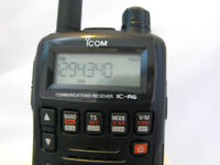 Icom IC-R6 Radio Scanner Airband -Ham-Marine-etc with extras can deliver