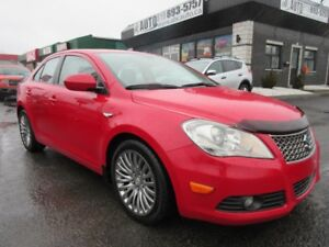 2011 Suzuki Kizashi SX (AWD, Leather, Sunroof, Heated Seats)