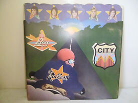 BAY CITY ROLLERS 'ONCE UPON A STAR' VINYL L.P. 1975
