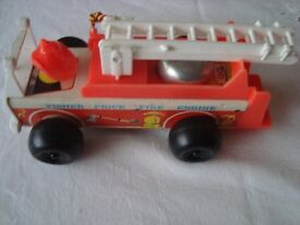 1970's Fisher Price Fire Engine
