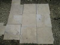 Travertine tiles, suitable for walls or floor