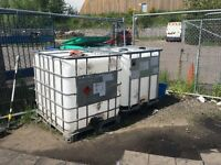 2 ,,IBC WATER TANKS ,,1000 ltr