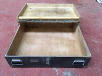 Antique Wooden Tool Storage Chest