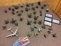 """Atlas """"Military Giants of The Sky"""" Diecast model Aircraft collection. Full set. *Reduced"""