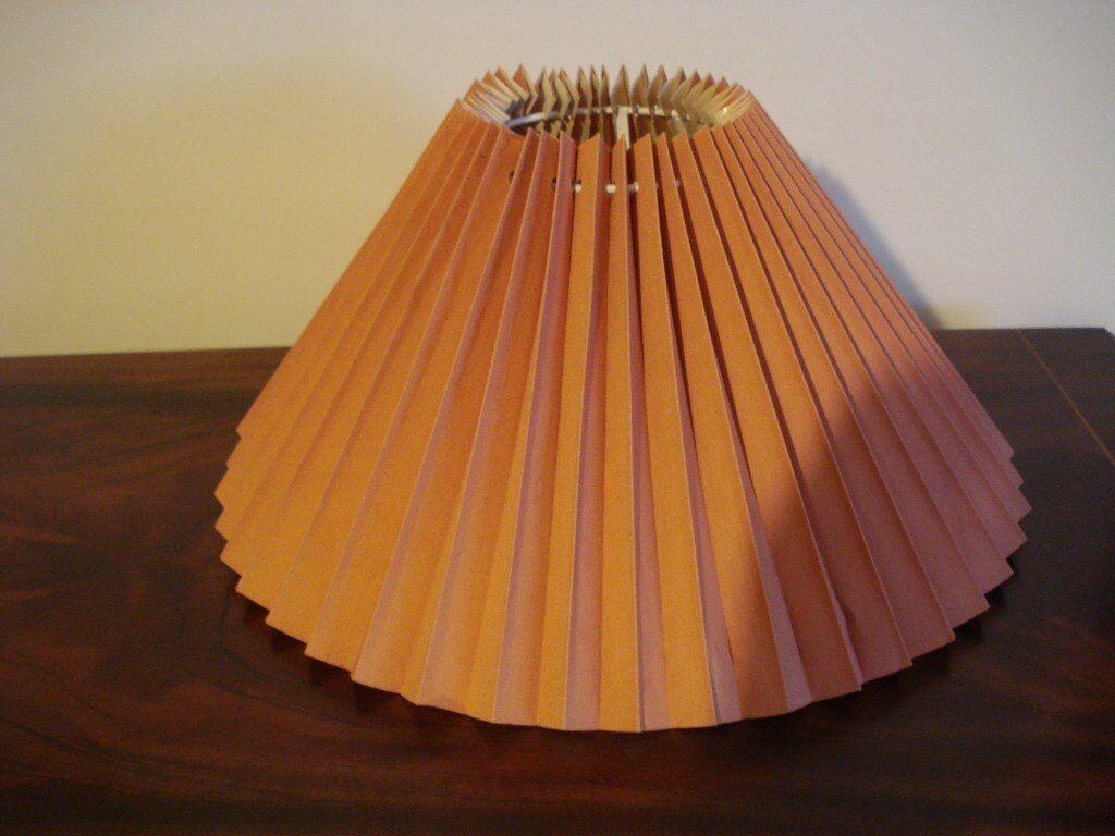 Terracotta lamp shade in colinton edinburgh gumtree terracotta lamp shade aloadofball Image collections
