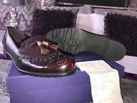 RUSSELL & BROMLEY Ox blood shoes